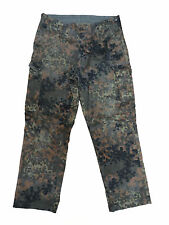 Used Original German Army Trousers Pants Bundeswehr Flecktarn Camouflage Camo