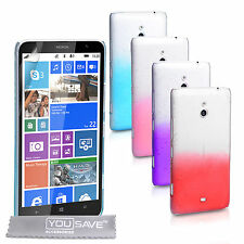 Yousave Accessories For The Nokia Lumia 1320 Stylish Rain Drop Hard Case Cover