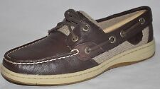 SPERRY TOP-SIDER Bluefish 2 Eye Brown Leather Deersk Boat Shoes Size 5M or 10M