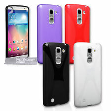Yousave Accessories For The LG G Pro 2 F350 Soft Silicone Gel X-Line Case Cover