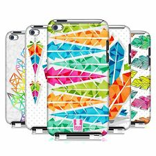 HEAD CASE DESIGNS GEOMETRIC FEATHERS CASE COVER FOR APPLE iPOD TOUCH 4G 4TH GEN