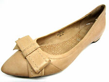 Ladies Rockport Adiprene Pink Leather Shoes with Bow Trim UK 4.5 SK71912