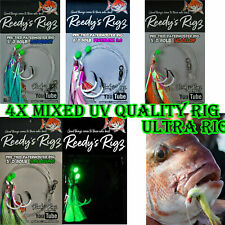 5 x Snapper Rigs Pre Tied On Paternoster Circle Hook Bait Fish Big Reds Tackle