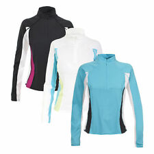 Trespass Tussle Womens Base Layer Top Sports Workout Fitness Running Jumper