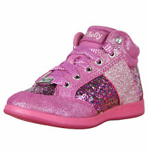 Lelli Kelly California Glitter Fuxia (Pink) Baseball Shoes LK6712S + Leg Warmer