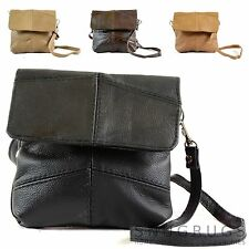 Ladies Leather Handy Cross Body / Shoulder Bag / Purse with Detachable Strap