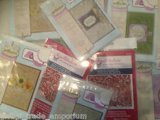 Brand New SPELLBINDERS 3D M-Bossabilities EMBOSSING FOLDERS Calibur Etc