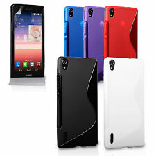 Caseflex Accessories For Huawei Ascend P7 Stylish Silicone Gel Fitted Case Cover