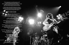 LED ZEPPELIN STAIRWAY TO HEAVEN LYRICS POSTER PRINT (6)