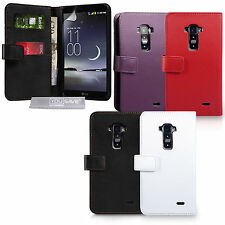 Yousave Accessories For The LG G Flex PU Leather Wallet Fitted Phone Case Cover
