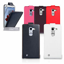 Yousave Accessories For The LG G Pro 2 PU Leather Flip Case Cover + Screen Film