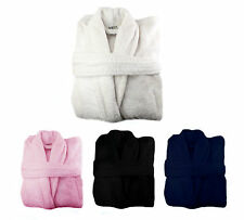 10 Terry Toweling Bath Robes Dressing Gown 100% Cotton Bathrobe Joblot Wholesale