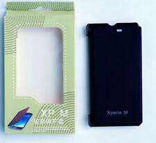 NEW FLIP FLAP COVER CASE POUCH FOR SONY XPERIA M C1904 C1905