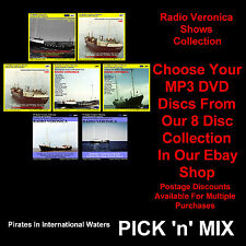 Pirate Radio Radio Veronica MP3 DVD & MP3 CDs Discs PICK n' MIX (MULTILISTING)