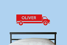 Personalised Lorry Wall Art/Wall Sticker