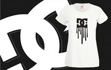 DC Death Of Dying Bleeding DC Shoes Retro T Shirt FOTL Girls Women Top All Sizes
