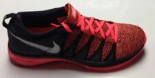 MENS NIKE FLYKNIT LUNAR2 TRAINER HYPER PUNCH/BLACK/D GREY/WHITE **REDUCED**