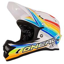 ONeal Fury Fidlock DH Helm Evo Rainbow Downhill Freeride Moto Cross DH FR MX
