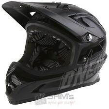 O'Neal Fury Fidlock DH Helm Evo PLAIN schwarz DH MTB Enduro FR All Mountain