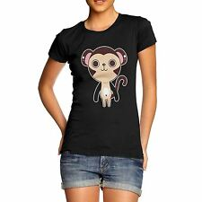 Women's Cute Monkey Funny Animal T-Shirt