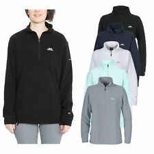 Trespass Louviers Womens Hiking Fleece Ladies Warm Lightweight Half Zip Jumper