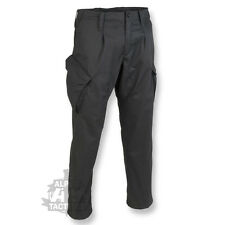 BRITISH ARMY PCS STYLE RIPSTOP TROUSERS COMBAT ISSUE CAMO AIRSOFT BLACK