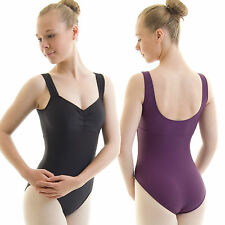 Girl's / Ladies Roch Valley Nylon Lycra Leotard with gathered bustline (RVCAMI)
