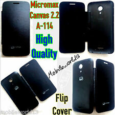 Micromax*-*Canvas 2.2 A114*-*High Quality**Battery Replace Flip Cover*MANY COLOR