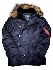 Alpha Industries Parka N3B Replica Blue #5269