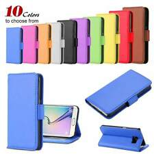 Wallet Magnetic Flip Leather Case Card Slot Stand Cover Frame For iPhone Samsung