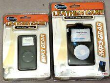 iConcepts Leather Case MP3 Gear fits iPod or iPod Nano Video 30&60GB NEW