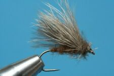 Fliegentom 317 - 3er Pack CDC & Rehaarsedge / Caddis - Trockenfliege