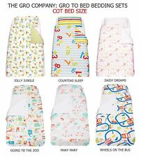 Grobag Gro To Bed Bedding Set - COT BED (Counting Sleep, Daisy Dreams, Jungle)