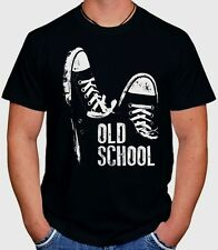OLD SCHOOL RAP HIP-HOP TUMBLR SWAG DOPE HIPSTER HYPE SKATE BLACK UNISEX T-SHIRT