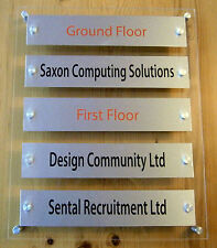 OFFICE DIRECTORY LISTING SIGN / OFFICE INFORMATION SIGNS