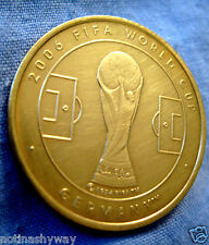 FIFA WORLD CUP COIN Gold Lustre Brazil 2014 Argentina France Russia 2018 England