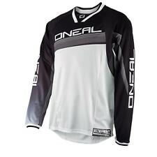 ONeal Element FR MTB Jersey Schwarz DH Downhill Mountainbike Freeride Dirt Shirt