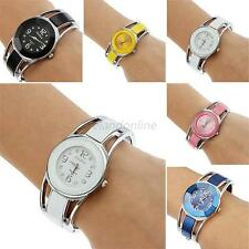 Chic Ladies Women Girls Watch Round Quartz Fashion Bracelet Wrist Watch