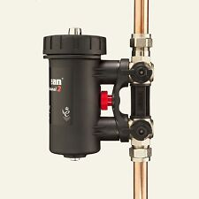 Magnetic Filter 22mm Adey Magnaclean Pro2 Fernox TF1 Salus MD22A Spirotech MB3
