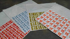 200 1ST CLASS STAMPS UNFRANKED WITH GUM £126.00 FV