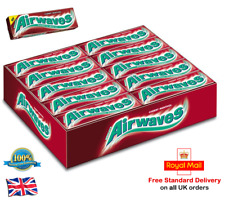 Wrigley`s Airwaves Cherry Menthol Chewing Gum Bubblegum AIRWAVES CHERRY MENTHOL