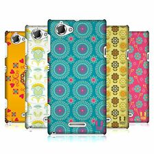 HEAD CASE DESIGNS BOHEMIAN PATTERNS HARD BACK CASE FOR SONY XPERIA L C2105
