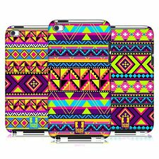 HEAD CASE DESIGNS NEON AZTEC HARD BACK CASE FOR APPLE iPOD TOUCH 4G 4TH GEN