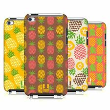 HEAD CASE DESIGNS PINEAPPLE PATTERNS CASE FOR APPLE iPOD TOUCH 4G 4TH GEN