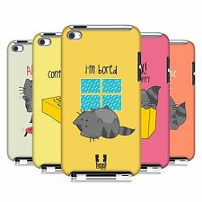 HEAD CASE DESIGNS WILBUR THE CAT HARD BACK CASE FOR APPLE iPOD TOUCH 4G 4TH GEN