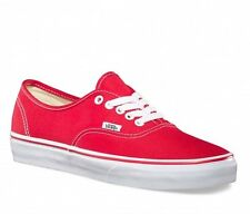 Vans Authentic Shoes (Red) **Official UK Vans Stockist**