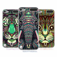 HEAD CASE AZTEC ANIMAL FACES SERIES 2 GEL CASE FOR APPLE iPOD TOUCH 5G 5TH GEN