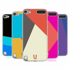 HEAD CASE COLOUR BLOCKING SILICONE GEL CASE FOR APPLE iPOD TOUCH 5G 5TH GEN