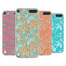 HEAD CASE PAISLEY ANIMALS SILICONE GEL CASE FOR APPLE iPOD TOUCH 5G 5TH GEN