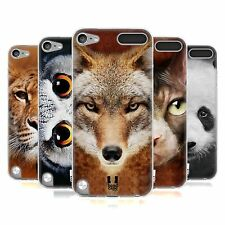 HEAD CASE ANIMAL FACES SERIES 1 GEL CASE FOR APPLE iPOD TOUCH 5G 5TH GEN